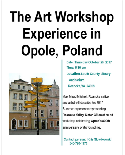 Opole Event Flyer