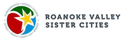 Roanoke Valley Sister Cities Retina Logo