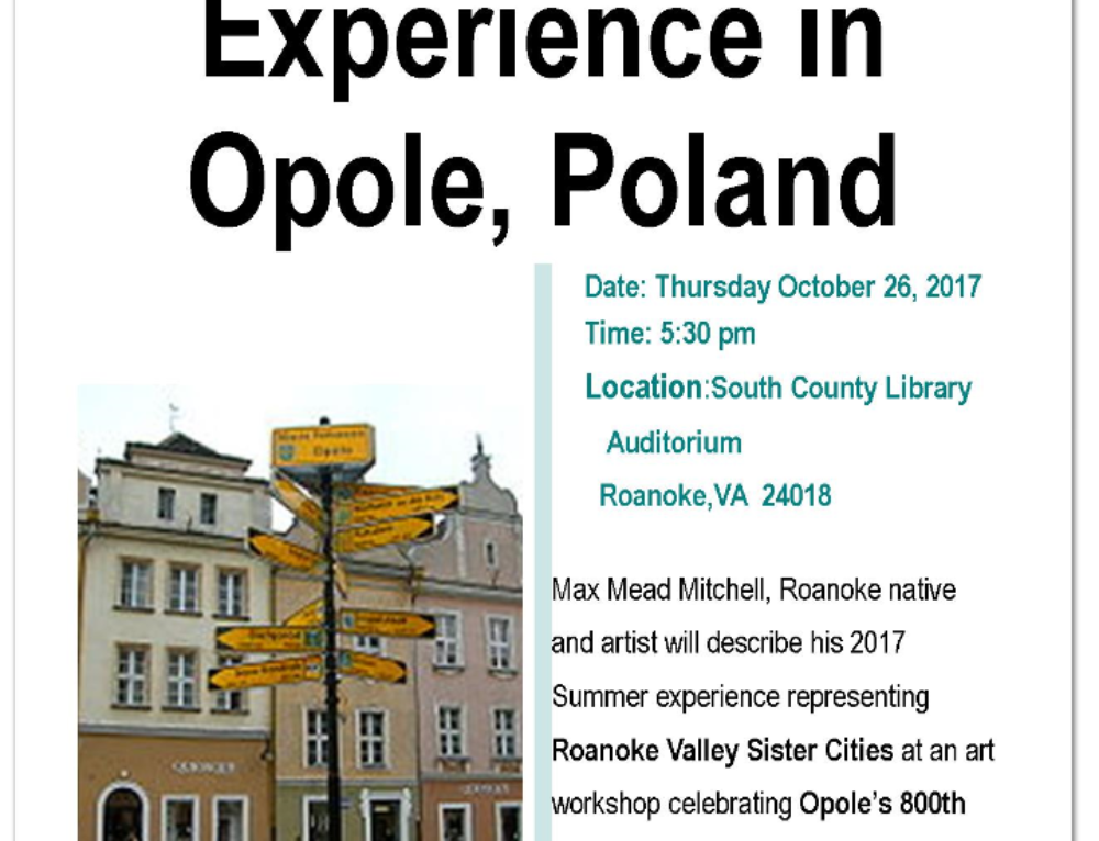 The Art Workshop Experience in Opole, Poland